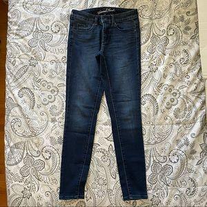 Universal Thread Dark Wash Skinny Jeans Size 0/25R